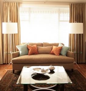 Sofa Straight On