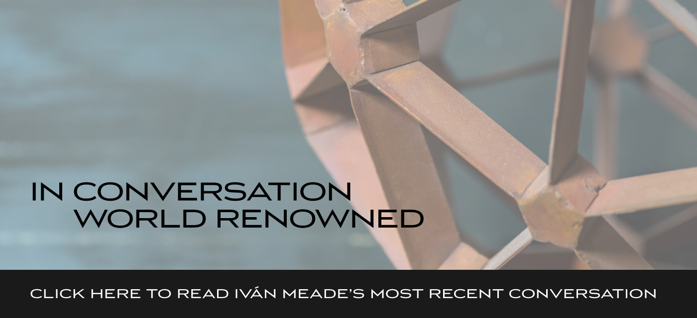 In Conversation – Ivan Meade interviews some of the world's top designers.