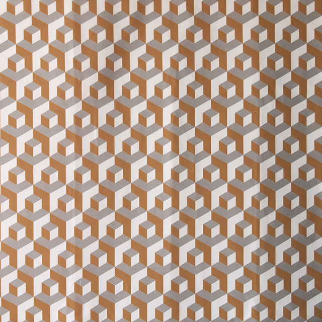 Cubo-Miel-Paloma-Crema ivan meade fabric
