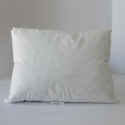 Lumbar pillow feather down
