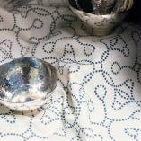 Silver Dishes, Sketch, Vista Hermosa in Marino