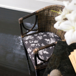 Chair, Lilies, Fan, Mariposa, Carbon