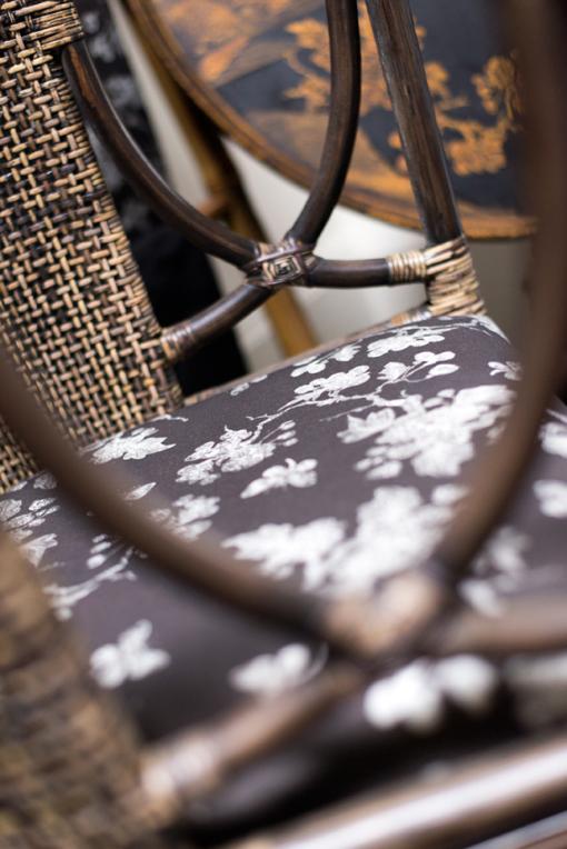 Chair, Mariposa, Carbon, Detail
