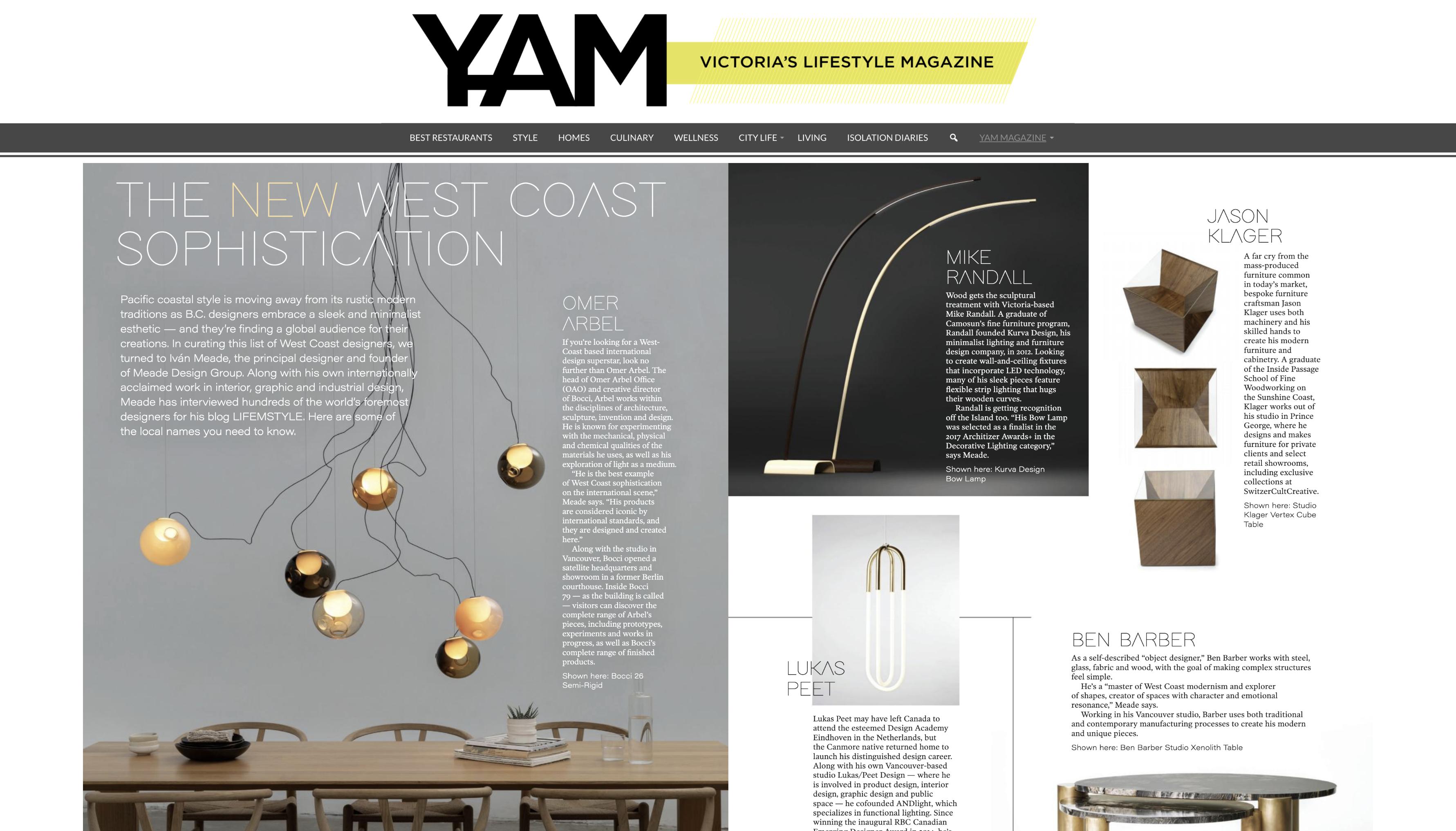 YAM Magazine, Style Issue - The New West Coast Sophistication